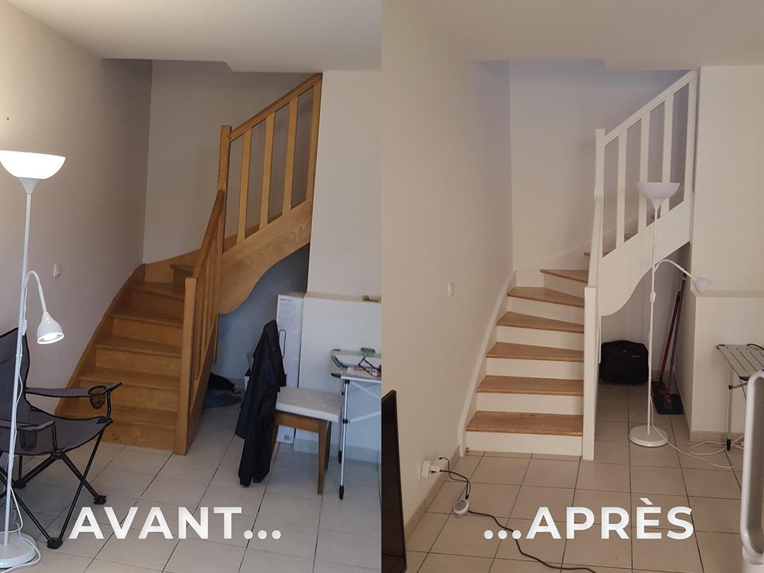 Peinture-Escalier-Bergerac-BosPeinture