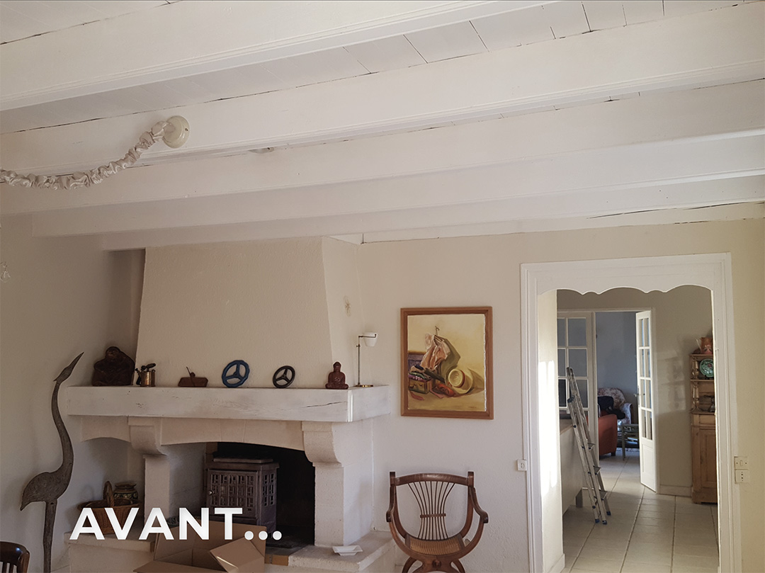 Peinture-salon-Bergerac-avant